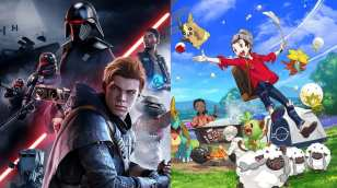 star wars fallen order. pokemon sword & shield