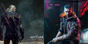 witcher, cyberpunk, gift, holidays
