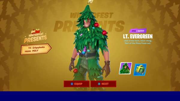 Fortnite Lt. Evergreen