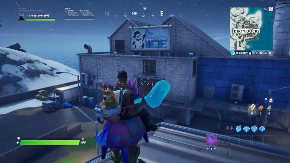 Fortnite Mr Polar's Artisanal Ice location