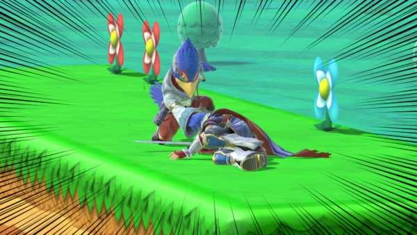 Smash Bros Falco Roy