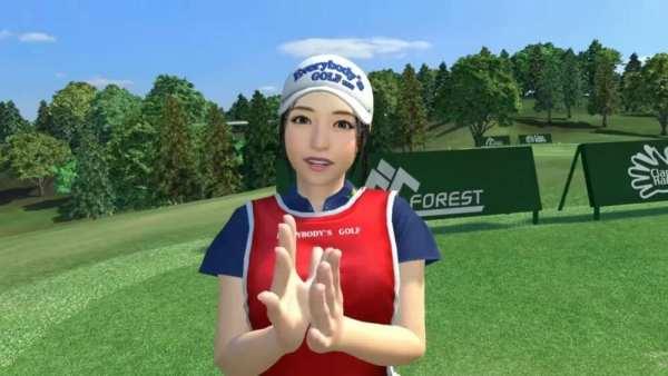 Everybodys golf vr, vr, 1019