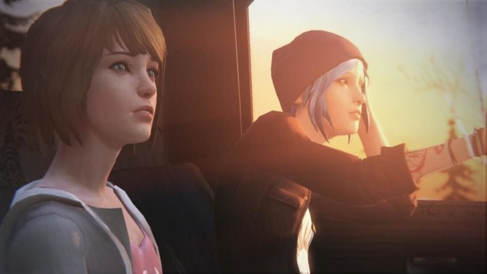 Life is strange 1, chloe and max