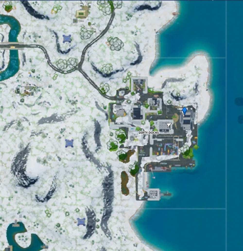 Fortnite Mr Polar's Artisanal Ice location