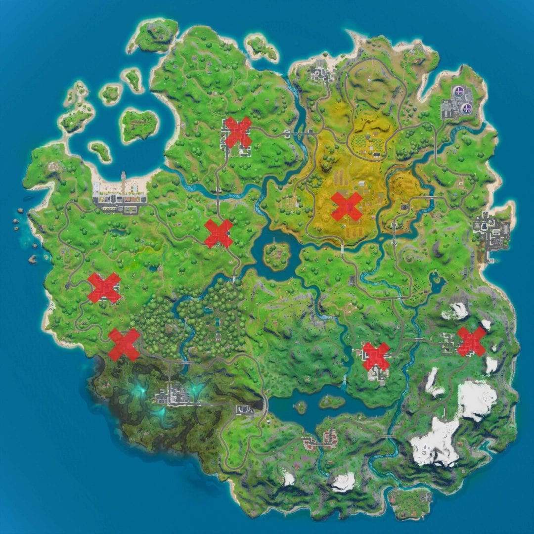 Slowflake Decorations Fortnite: How and where to find/destroy snowflake decorations