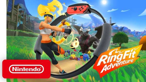 Nintendo, 2020, Switch, Ring Fit Adventure
