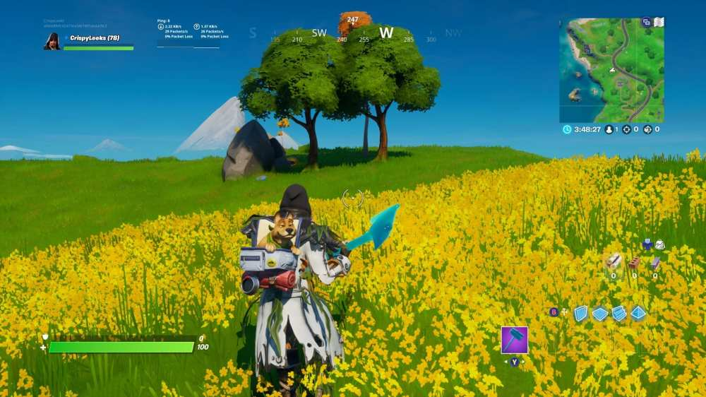 Fortnite Hidden Gnome Between Fancy View