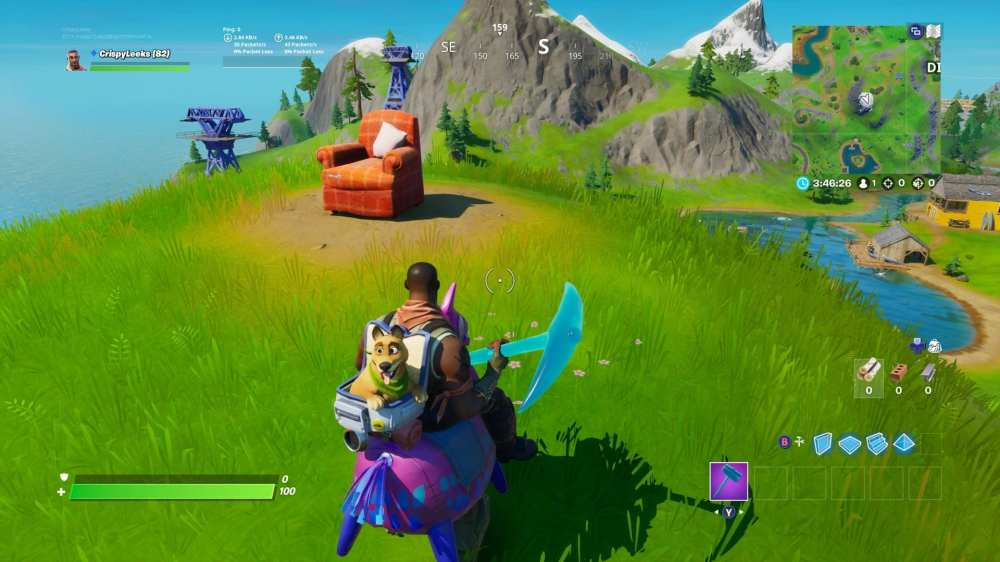 Fortnite lonely recliner