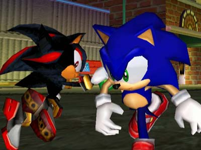 Sonic Adventure 2, Sonic meets Shadow, Best Sonic the Hedgehog Moments