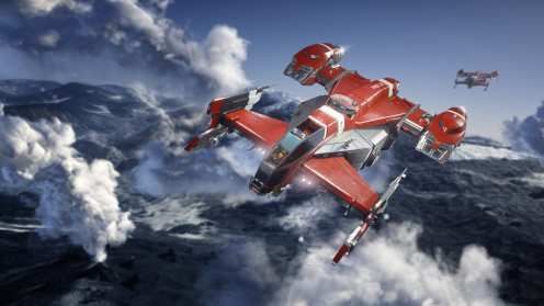 Star citizen Drake Cutlass RED (5)