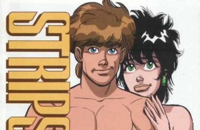 strips erotic vintage comic