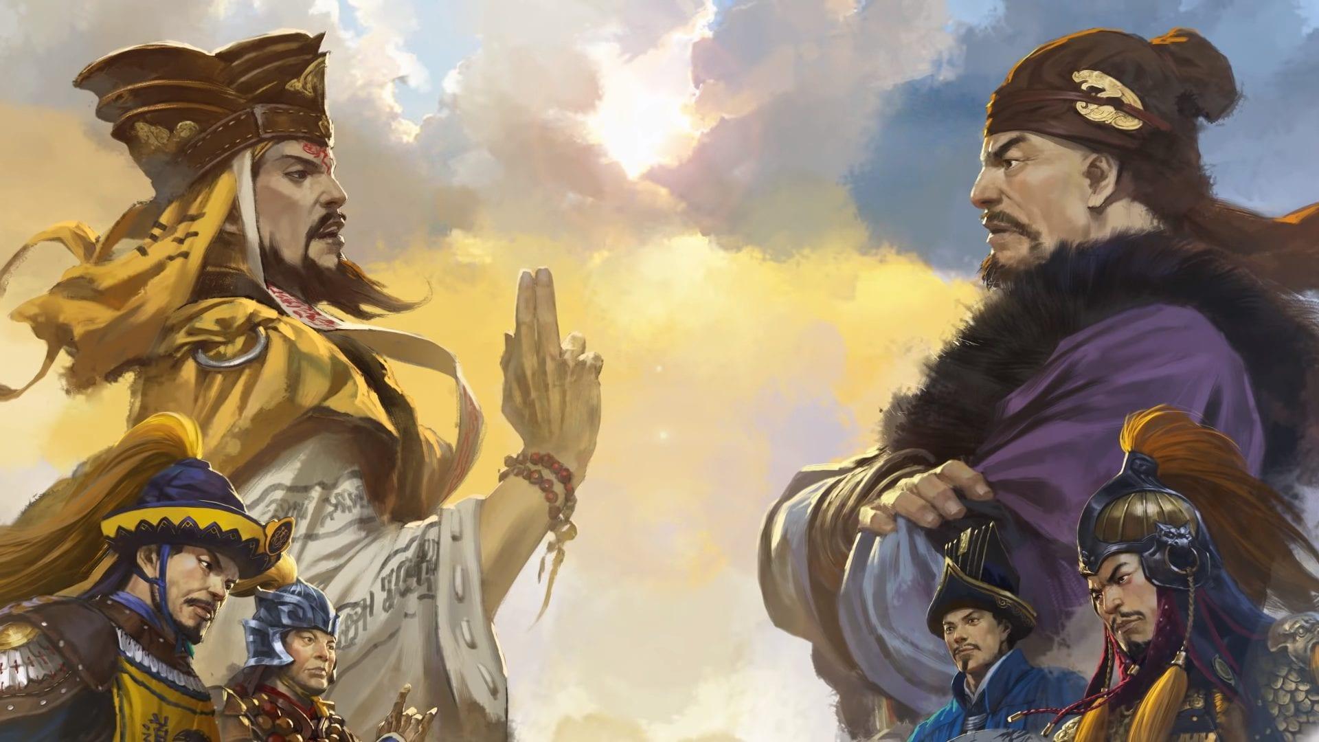 Total war three kingdoms mandate of heaven mac
