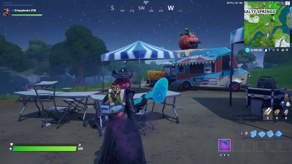 fortnite food truck locations