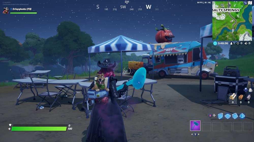 fortnite food truck locations
