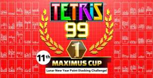 tetris 99, maximus cup, lunar new year