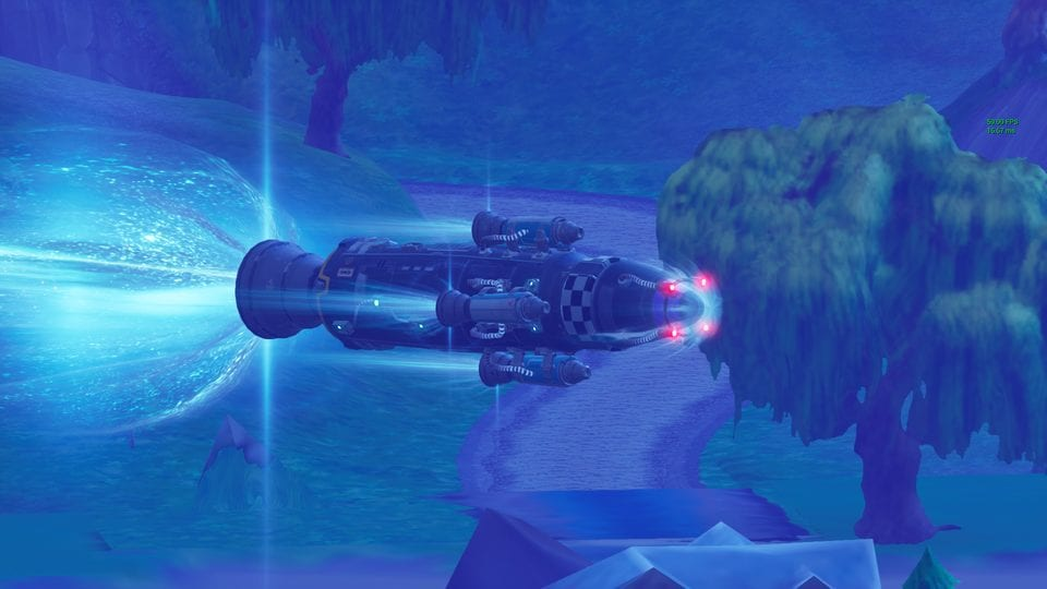 Fortnite Chapter 2 Season 2, visitor rocket