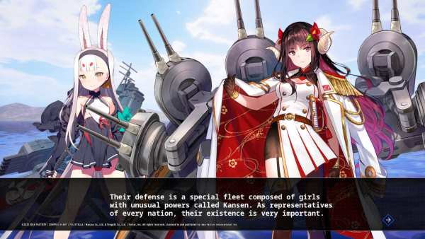 Azur Lane: Crosswave Story Prologue