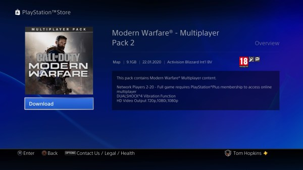 modern warfare, multiplayer dlc pack