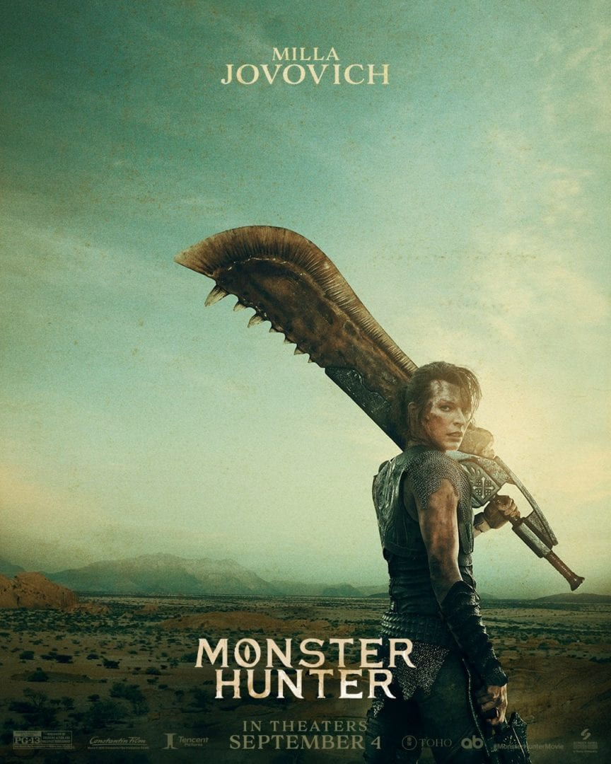 Sony Picture S Monster Hunter Movie Gets New Promotional Posters Choose Your Weapon
