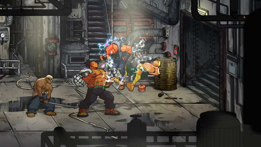 Streets of Rage 4 Characters