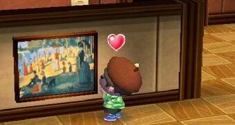 Animal Crossing New Leaf paintings
