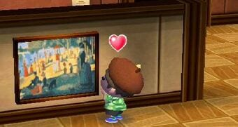 Animal Crossing New Leaf paintings