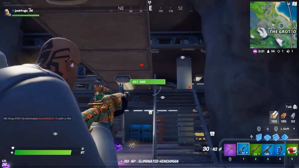 how to open vaults in Fortnite