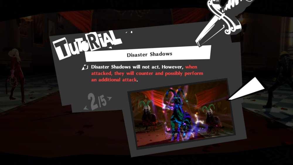 Persona 5 Royal Disaster Shadows