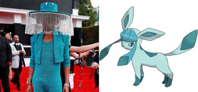 Billy Porter and Glaceon