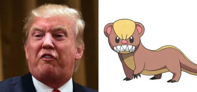 Donald Trump and Yungoos
