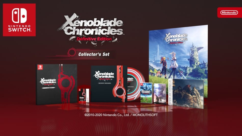 Xenoblade Chronicles: Definitive Edition - Set de coleccionista, interruptor de Nintendo, vinilo