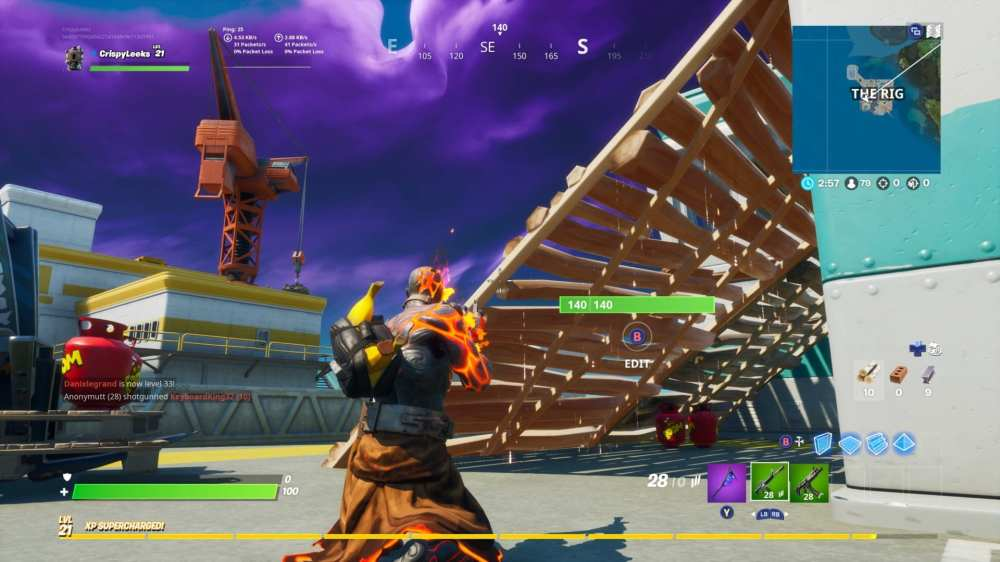 Using Propane Tanks to Destroy Structures in Fortnite