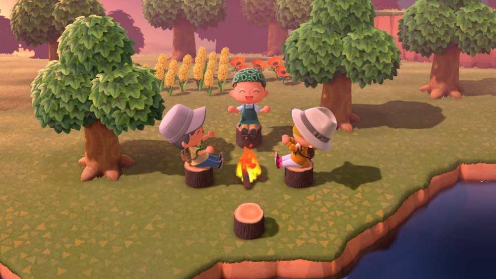Animal Crossing New Horizons Campfire