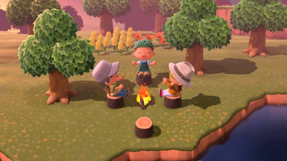 Animal Crossing New Horizons Campfire