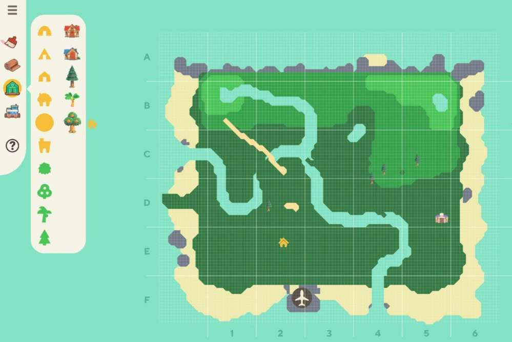 animal crossing island designer tool