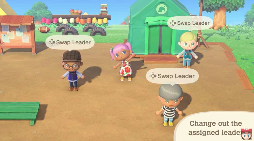 Animal Crossing New Horizons: How to Change Leader in Party Play