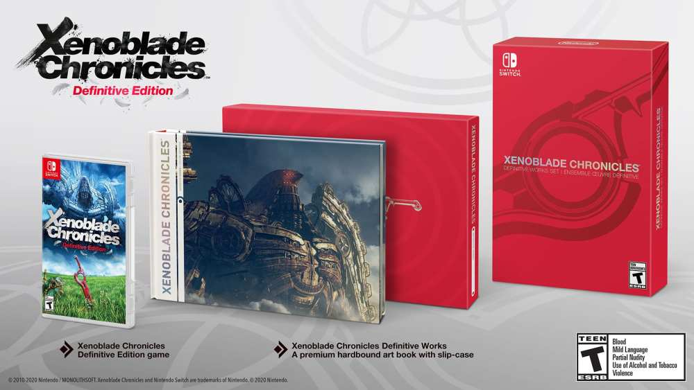 Xenoblade Chronicles: Definitive Edition Works Set, pre-order, nintendo switch