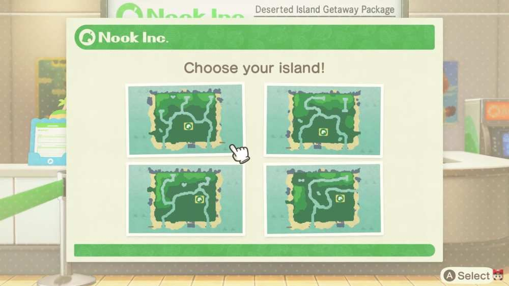 Animal Crossing New Horizons islands, which island to choose in Animal Crossing New Horizons