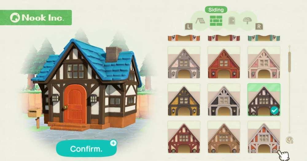 Animal Crossing New Horizons house upgrades