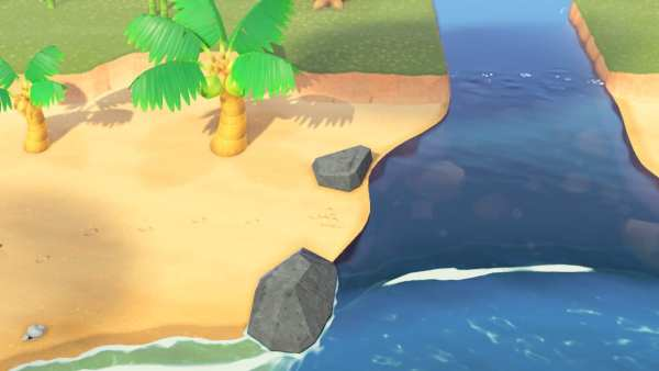 Animal Crossing: New Horizons river mouth