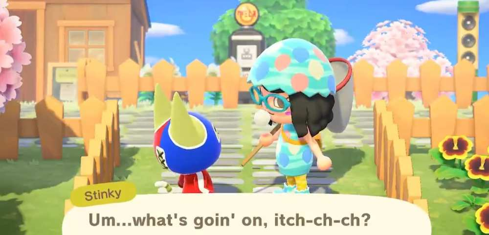 Animal Crossing New Horizons Fleas