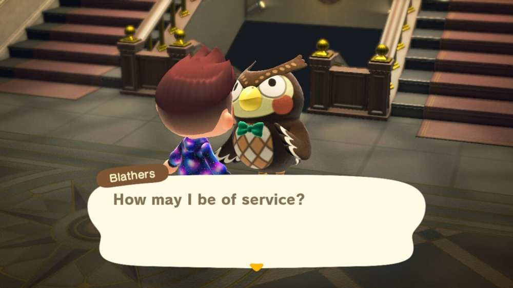 Animal Crossing New Horizons Blathers Art Museum