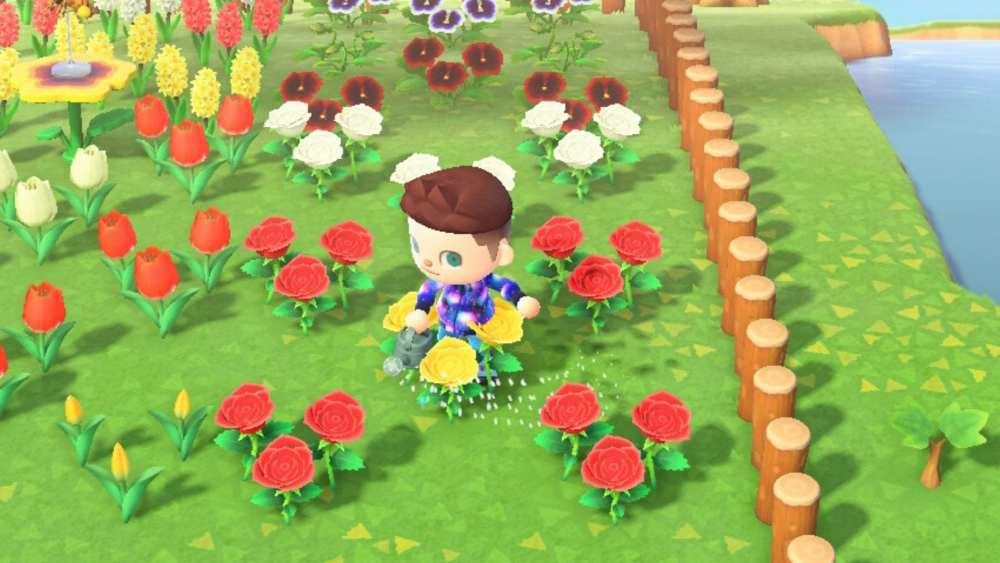Animal Crossing New Horizons Flower Breeding