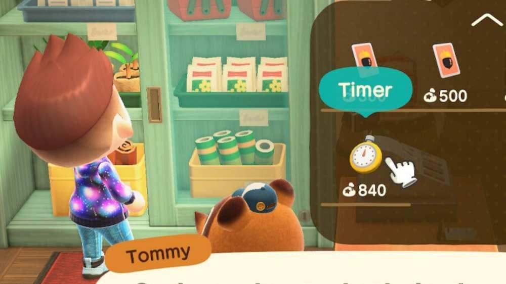 Animal Crossing New Horizons Timer