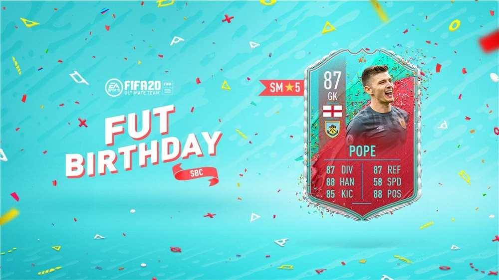 fifa 20, fut birthday pope sbc