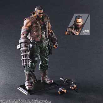 Final Fantasy VII Remake Figure Barret (7)