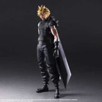 Final Fantasy VII Remake Figure Cloud (1)