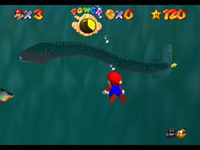 Mario 64 eel