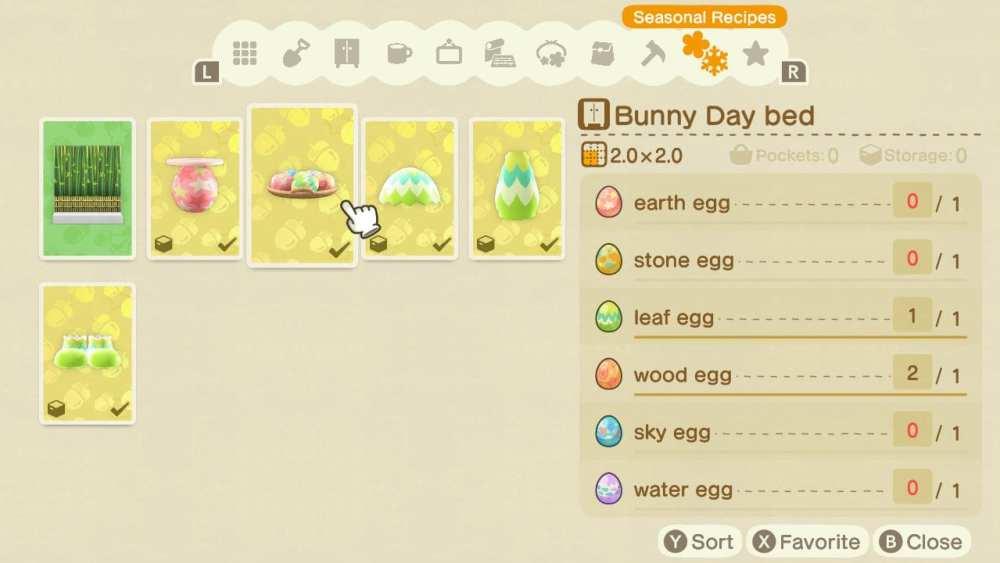 Bunny Day in Animal Crossing New Horizons