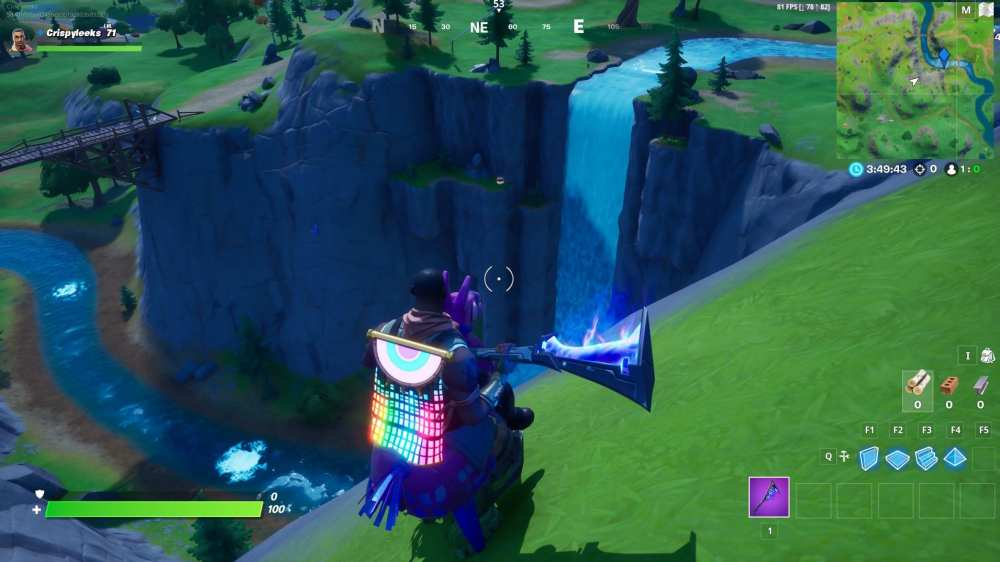 Gorgeous Gorge in Fortnite